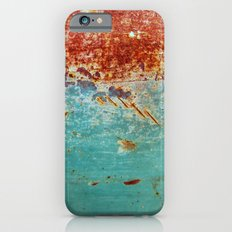 Teal Rust Slim Case iPhone 6s