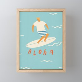 Aloha Framed Mini Art Print