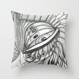UNA MIRADA AL INFINITO Throw Pillow