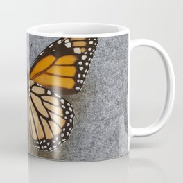 Monarch Butterfly Beneath Coffee Mug