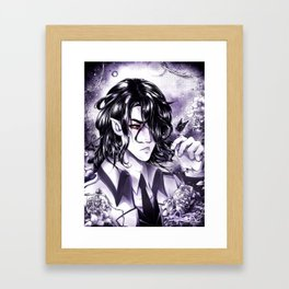Slowly Wither Away- KnA Hades Framed Art Print