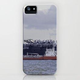 USS George H.W Bush. iPhone Case