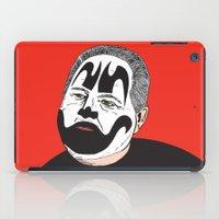 rush iPad Cases featuring Rush Juggalaugh by Chris Piascik