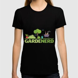 Funny Gardening Design - Garden Nerd T-shirt