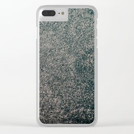 Industrial Grit Clear iPhone Case