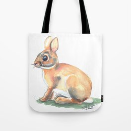 Ivy's Bunny Tote Bag