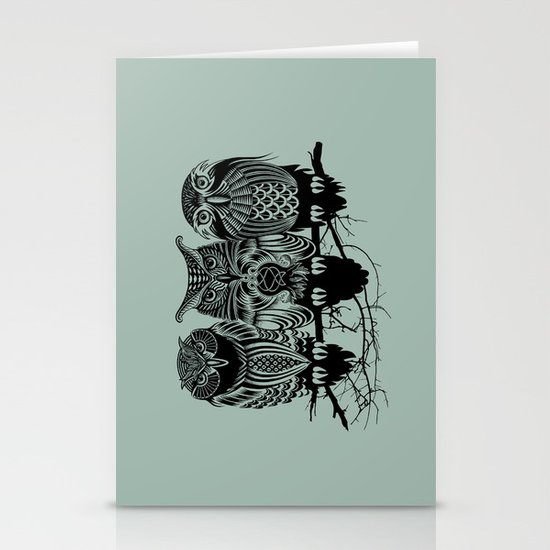 Owls of the Nile Stationery Cards