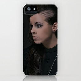 Lynn Gunn (PVRIS) Digital Art iPhone Case