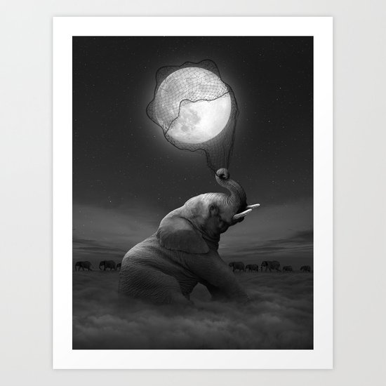 Bringing Light to the Darkness Art Print