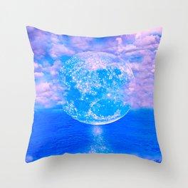 MOON BEAMS Throw Pillow
