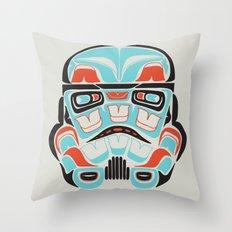 Skull Warrior - Alliance Is Rebellion - Stormtrooper,  Throw Pillow