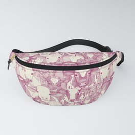 just ox cherry pearl Fanny Pack