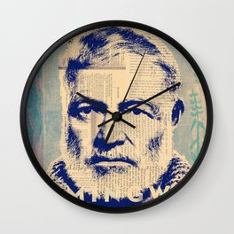 Hemingway Wall Clock