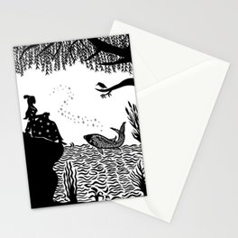 Ye Xian - The Golden Fish Stationery Cards