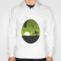 egg Hoodies featuring Egg by Broenner