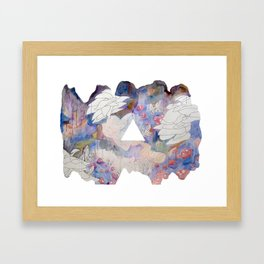 Organisms in Space, 2012 Framed Art Print