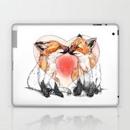 baby fox love Laptop & iPad Skin
