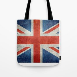 "English Flag ""Union Jack"" bright retro 3:5 Scale Tote Bag"