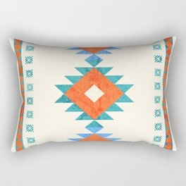 geometry navajo pattern no3 Rectangular Pillow