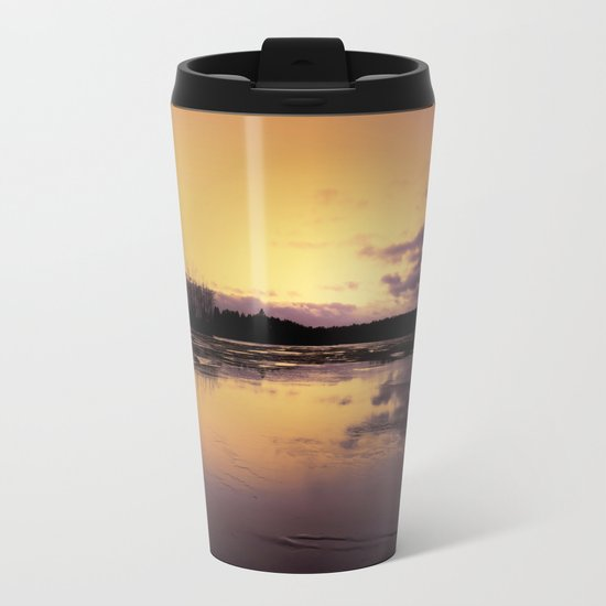 The Radiant Beauty of Nature Metal Travel Mug