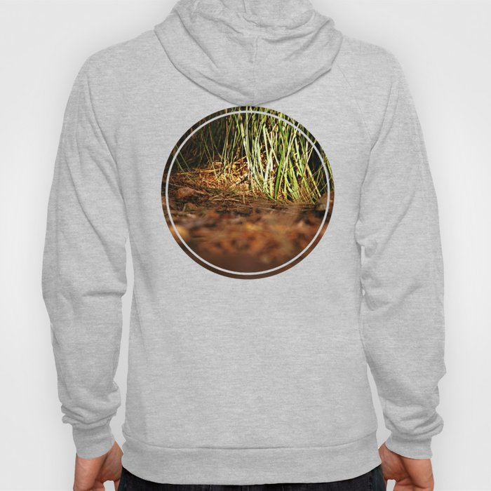 Macro close up forest life spying Hoody