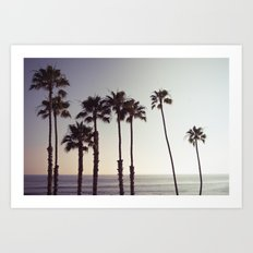 San Clemente Sunset 2 Art Print