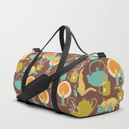 Cozy cat hygge Duffle Bag