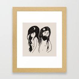Pieces Framed Art Print