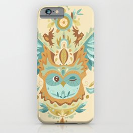Owl Wings iPhone Case