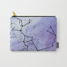Sagittarius in Purple Carry-All Pouch