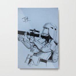 Snowtrooper (Force Awakens) Metal Print