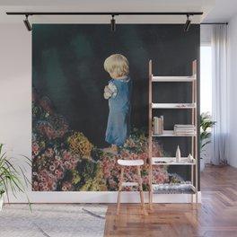Feeling Blue Wall Mural