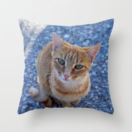 give me a little love Throw Pillow