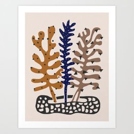 Plant Composition III Art Print