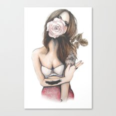 Charmaine // Fashion Illustration Canvas Print