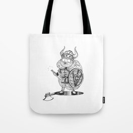 Troubled Viking Tote Bag