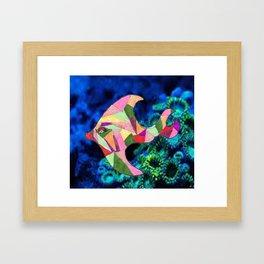 Isabella the Fish Framed Art Print