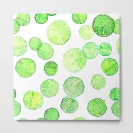 Limes Metal Print