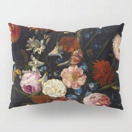 """Jan van Kessel the Elder """"Floral still life"""" Pillow Sham"""