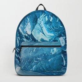 Turquoise, Teal & Aqua Shards of Glass Bowl Backpack