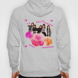 EXID Pink Clouds and Hearts Hoody