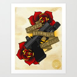 Modern Day Blaster Art Print