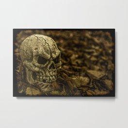 Halloween Skull 1 Metal Print