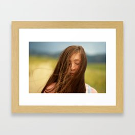Winded.  Framed Art Print