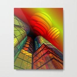 look into the sky -4- Metal Print