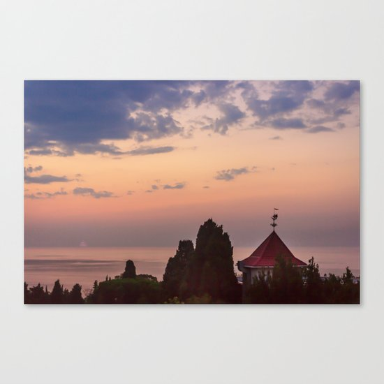 Good morning, Sun! Canvas Print