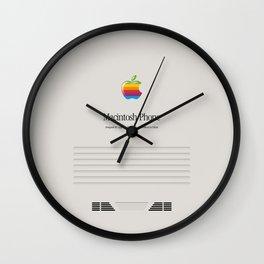 Retro Macintosh Wall Clock