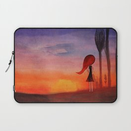 How many sunsets shall i see without you? Laptop Sleeve