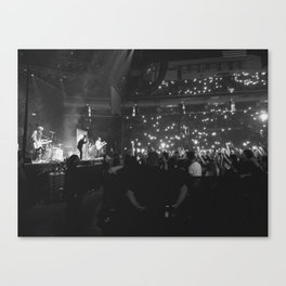 Finish Ticket Canvas Print