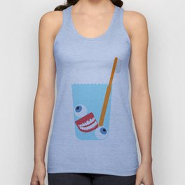 Tooth Brush Unisex Tank Top